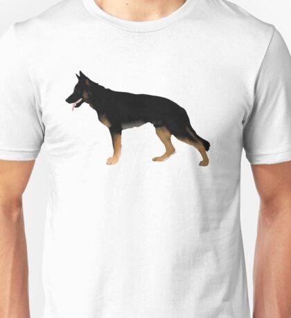 German Shepherd: Melanistic Tan & Black Unisex T-Shirt