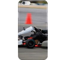 DRIVE FAST OR GO HOME iPhone Case/Skin