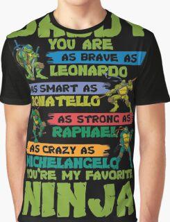 Dad - Ninja Graphic T-Shirt