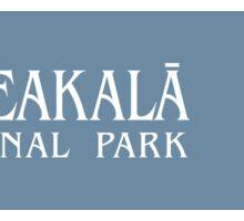 Haleakala National Park Sign, Hawaii, USA Sticker