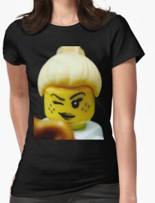 Lego Genie Girl! Womens Fitted T-Shirt