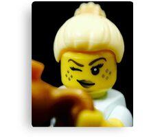 Lego Genie Girl! Canvas Print