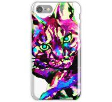 BRILLIANT CAT 1 iPhone Case/Skin