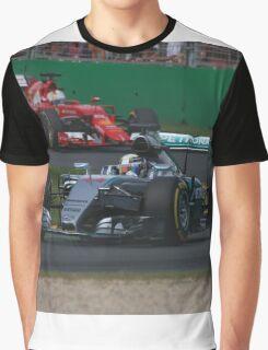 Lewis Hamilton & Sebastian Vettel Graphic T-Shirt