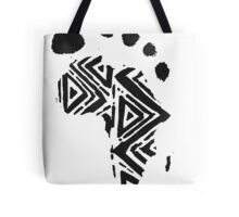 Africa Footprint Tote Bag