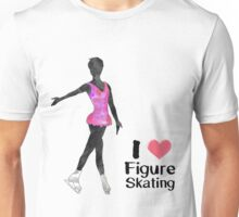 I heart Figure Skating Unisex T-Shirt