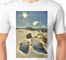 Winter, Mount Buffalo Plateau Unisex T-Shirt