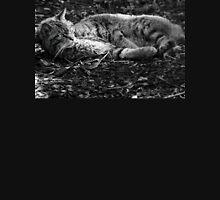 Black & White Wild Cat Unisex T-Shirt