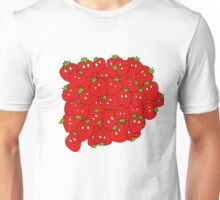 Strawberry Cluster Unisex T-Shirt