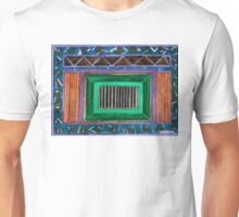 Lightful Scenery in Green and Orange  Unisex T-Shirt