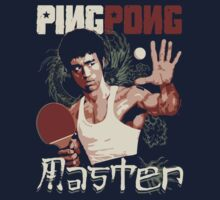 THE PING PONG MASTER Kids Tee