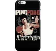 THE PING PONG MASTER iPhone Case/Skin