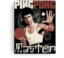 THE PING PONG MASTER Canvas Print