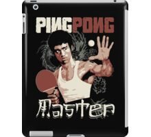 THE PING PONG MASTER iPad Case/Skin