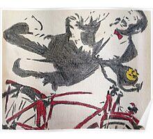 Pee Wee's Big Adventure Bicycle Poster