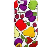 fruit mix - taste of summer iPhone Case/Skin