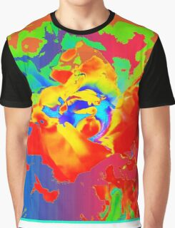 Rainbow Peony No. 1 Graphic T-Shirt