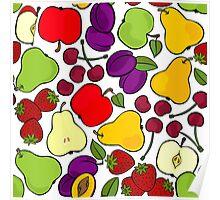 fruit mix - taste of summer Poster