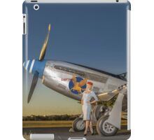 Annie and the Mustang iPad Case/Skin
