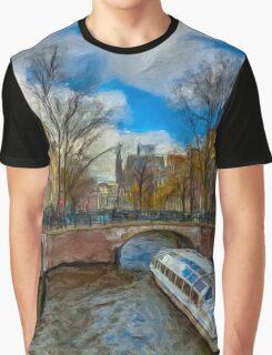 The Bridges of Amsterdam Graphic T-Shirt