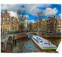 The Bridges of Amsterdam Poster