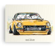 ozizo art 0017 Canvas Print