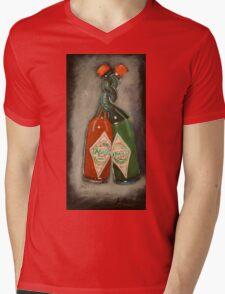 hot & hotter Mens V-Neck T-Shirt