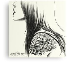 ozizo art 0018 Canvas Print