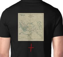 map cross Unisex T-Shirt