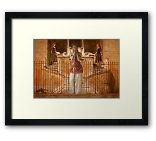 studying the past... Framed Print