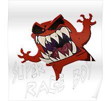 Super Rage Boy Poster