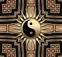 Black Gold Art Deco New Age fusion by webgrrl