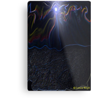 DIVE INTO THE RIVER OF LIFE Metal Print