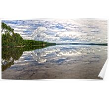 Clouds Over Eagle Lake Poster