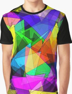 Colorful triangles Graphic T-Shirt