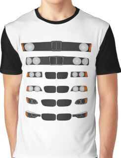 BMW 3 series evolution Graphic T-Shirt