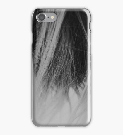 Black and white hairdressers coll iPhone Case/Skin