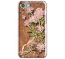 Rock Dwelling Native Plant iPhone Case/Skin