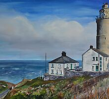Start Point Lighthouse by Mike Paget
