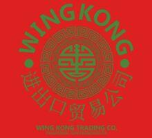 WING KONG - BIG TROUBLE IN LITTLE CHINA JACK BURTON (GREEN) Kids Tee