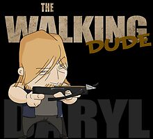 The Walking Dude - Daryl Edition by PG-stuff