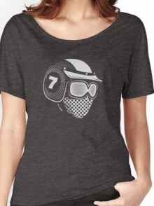 Lucky Seven (white) Women's Relaxed Fit T-Shirt