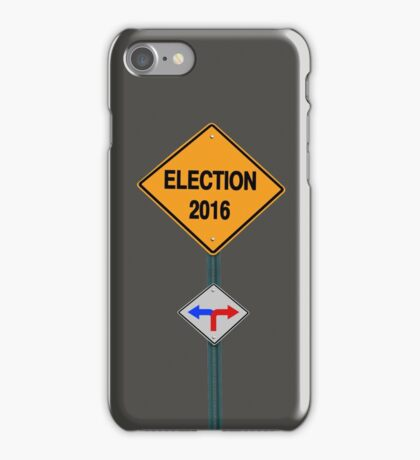 election 2016 iPhone Case/Skin