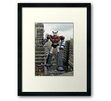 Mazinger Z Japan Robot Anime Framed Print