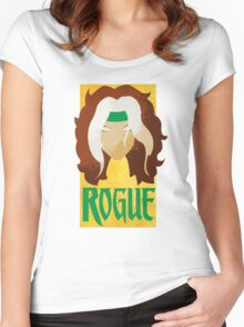 Rogue • X-Men Women's Fitted Scoop T-Shirt