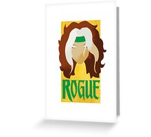 Rogue •X-Men Greeting Card