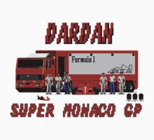 SUPER MONACO GP - DARDAN TEAM Kids Tee