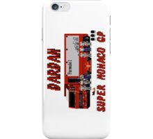 SUPER MONACO GP - DARDAN TEAM iPhone Case/Skin