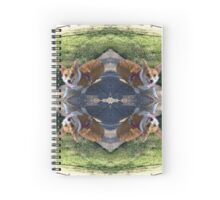 Walk the Corgi Spiral Notebook