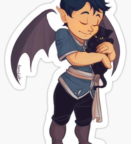 Baby Rhys hug Sticker
